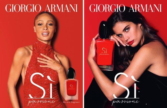 Giorgio Armani 'Si' Fragrance 2018 : Cate Blanchett, Adwoa Aboah & Sara Sampaio