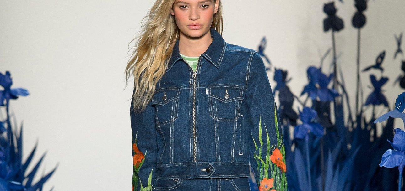 bd9effc2848 Fashion Trend: 16 Embellished Denim Jackets to Shop for 2018 -  theFashionSpot