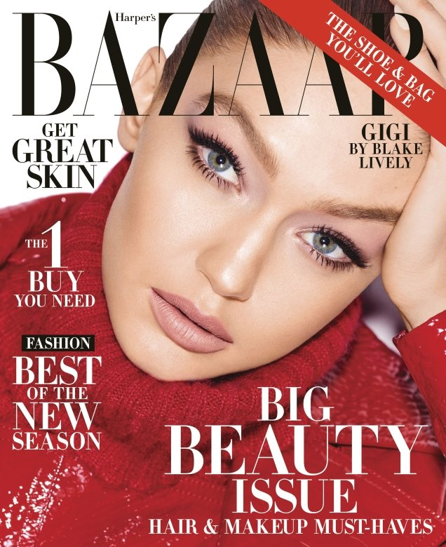 US Harper's Bazaar May 2018 : Gigi Hadid by Mariano Vivanco