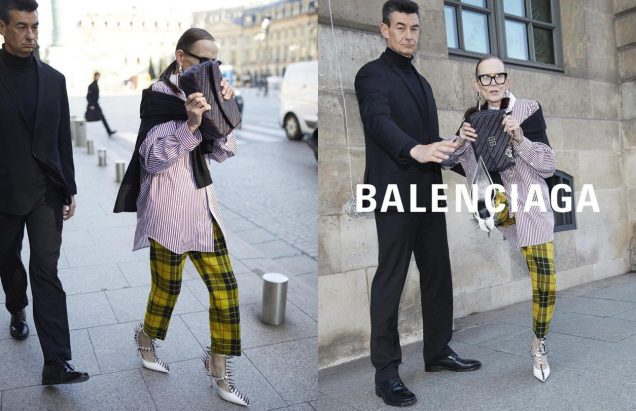 Marjitta Nissinen for Balenciaga.
