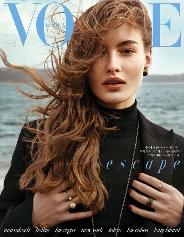 Vogue Korea June 2018 : Grace Elizabeth by Hyea W. Kang