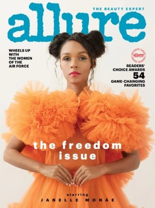 Allure July 2018 : Janelle Monae by Camila Falquez