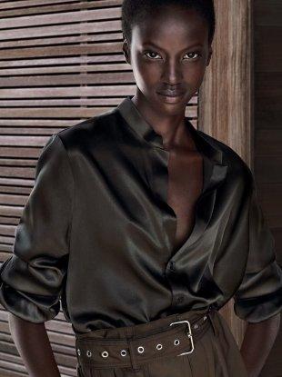 Anok Yai Becomes Estée Lauder's Newest Brand Ambassador 2018