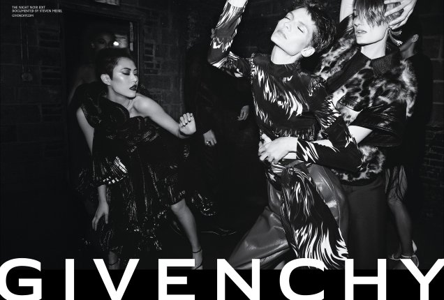 Steven Meisel's Magic Touch Is Missing From Givenchy's Fall 2018 Campaign