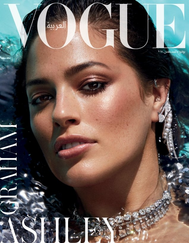 Vogue Arabia July/August 2018 : Paloma Elsesser & Ashley Graham by Miguel Reveriego