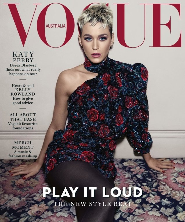 Vogue Australia August 2018 : Katy Perry by Emma Summerton