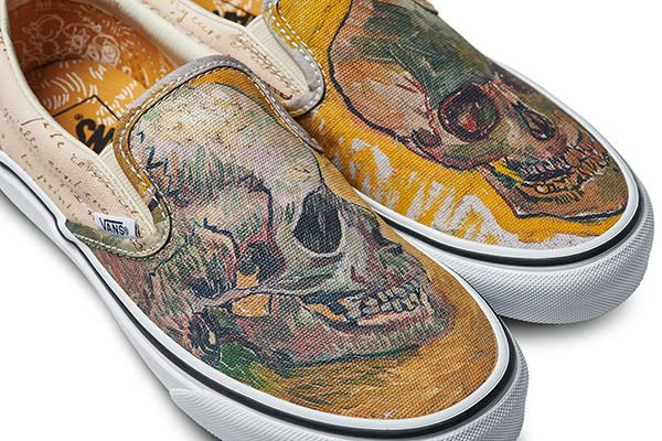 Vans x Vincent Van Gogh Skull Slip-on
