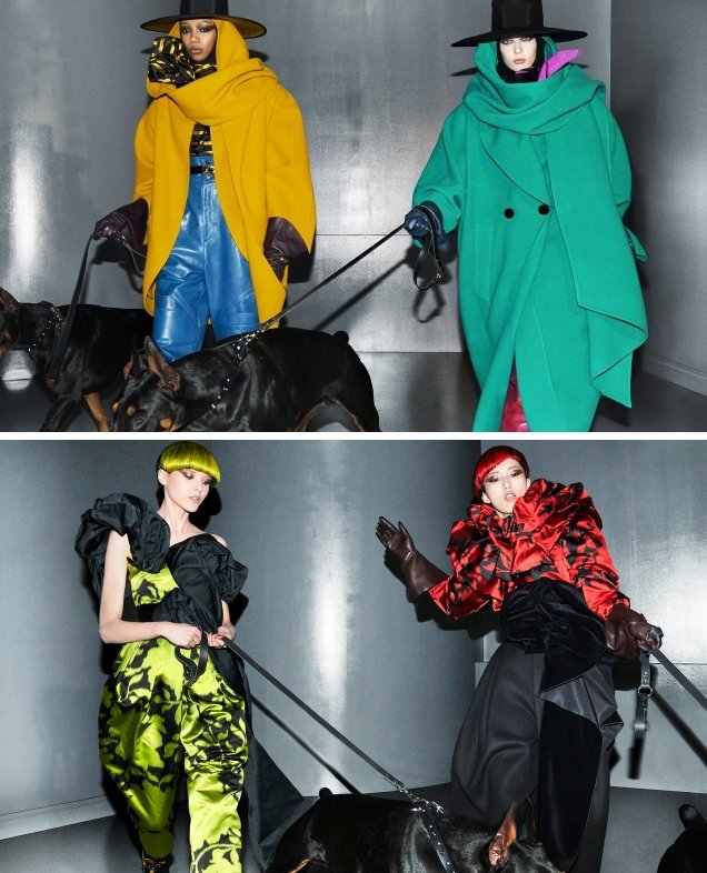Marc Jacobs F/W 2018.19 by Steven Meisel