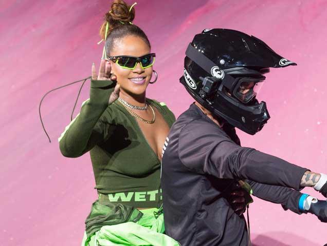Rihanna closes the Spring 2018 Fenty x Puma Runway Show