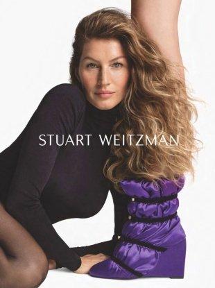 Stuart Weitzman F/W 2018.19 : Gisele Bundchen & Doutzen Kroes by Inez & Vinoodh