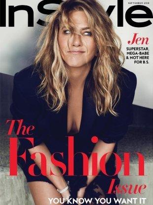 InStyle September 2018 : Jennifer Aniston by Ben Hassett