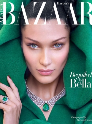 Harper's Bazaar Arabia October 2018 : Bella Hadid by Mariano Vivanco