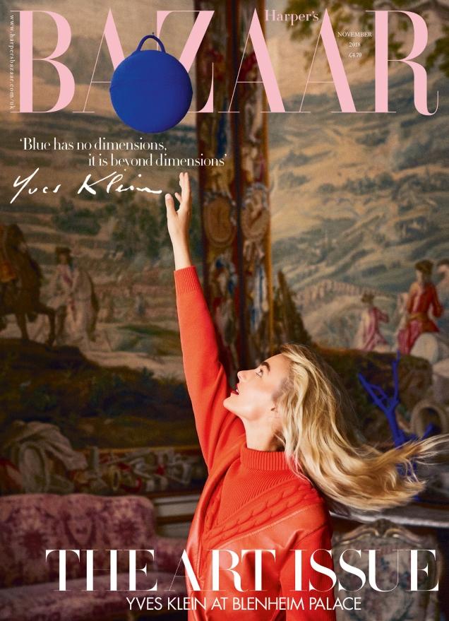 UK Harper's Bazaar November 2018 : Maartje Verhoef by Josh Shinner