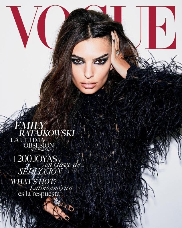 Vogue Mexico & Latin America October 2018 : Emily Ratajkowski by Carin Backoff