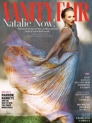 Vanity Fair December 2018 : Natalie Portman by Erik Madigan Heck