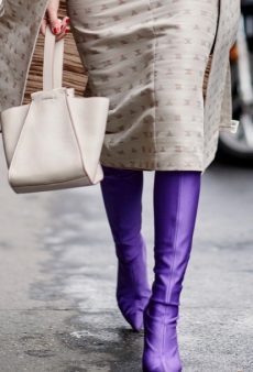 20 Skirt-and-Boots Combinations to Wear All Winter Long