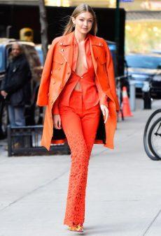 Sorry Pantone, Fashion Has an Orange Crush for 2019