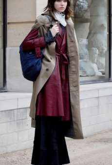 Winter Layering Tricks We Picked Up From Street Style Stars