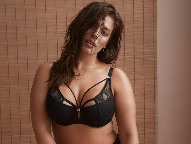 f320f511b Addition Elle x Ashley Graham s Lingerie Collab Is Bringing on the ...