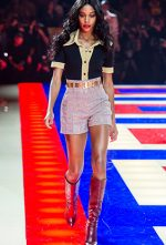 The Tommy Hilfiger x Zendaya Spring 2019 Runway Show Featured an All-Black Cast