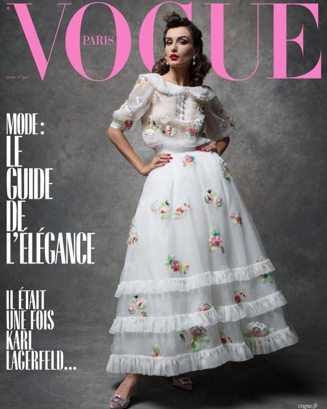 Vogue Paris April 2019 : Adut, Andreea & Raquel by Inez van Lamsweerde & Vinoodh Matadin