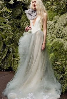 34 Aspirational Wedding Dresses (and 1 Amazing Jumpsuit) From the Bridal Spring 2020 Collections