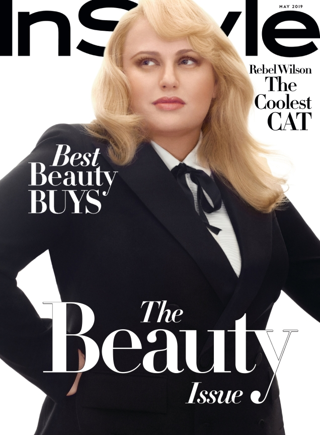US InStyle May 2019 : Rebel Wilson by Robbie Fimmano