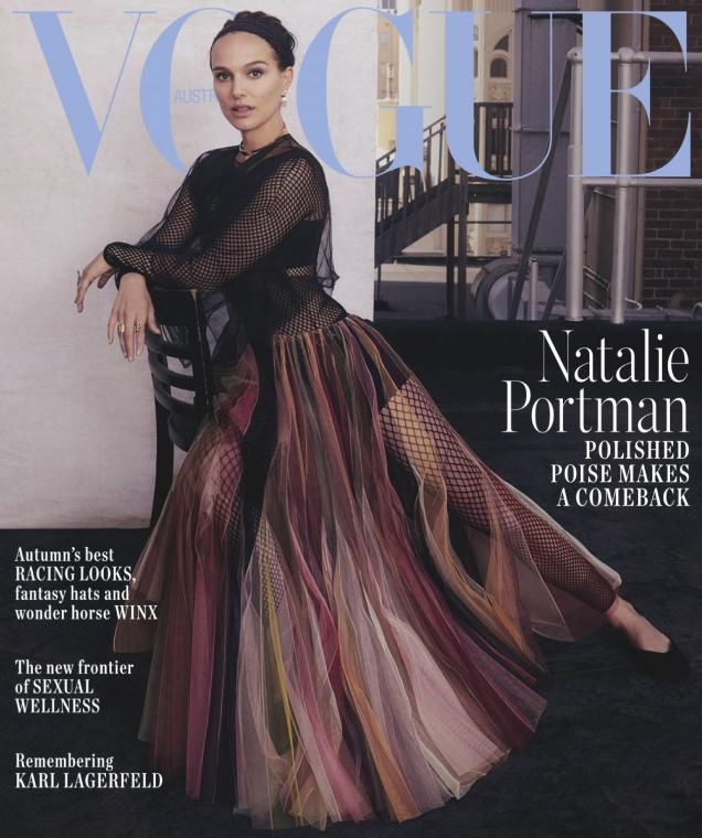 Vogue Australia April 2019 : Natalie Portman by Emma Summerton