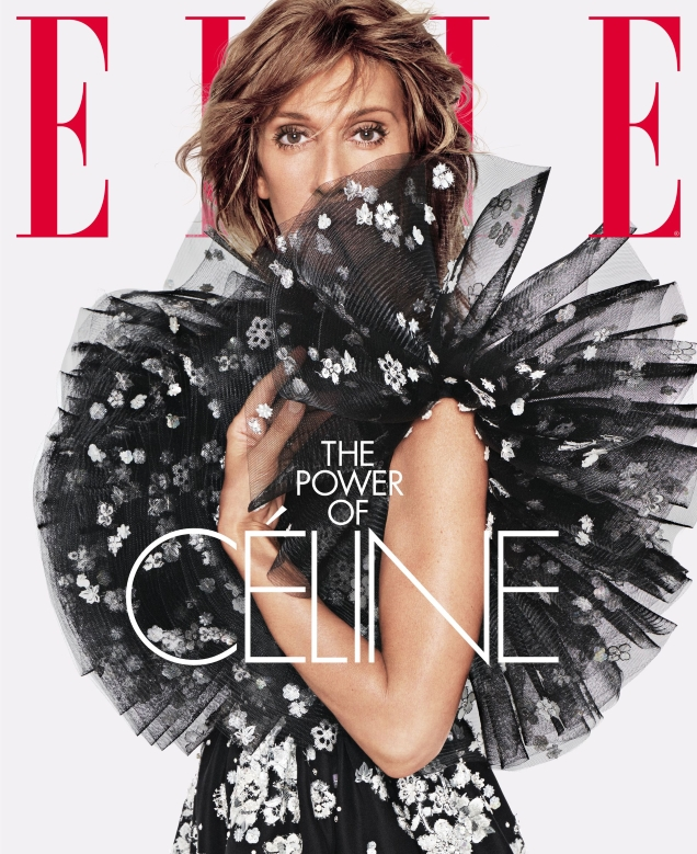US Elle June 2019 : Celine Dion by Tom Munro