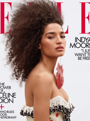 US Elle June 2019 : Indya Moore by Zoey Grossman
