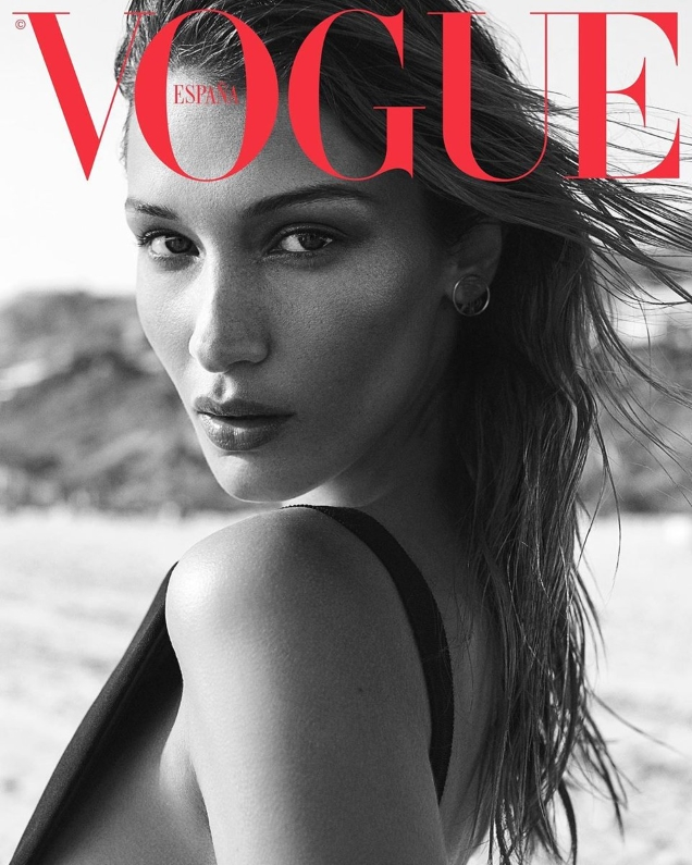 Vogue España June 2019 : Bella Hadid by Zoey Grossman