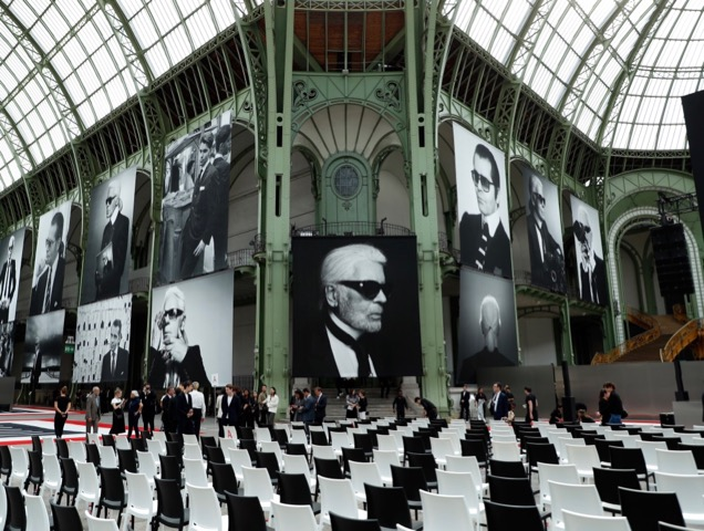 Karl For Ever tribute.
