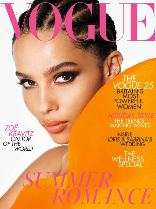 UK Vogue July 2019 : Zoe Kravitz by Steven Meisel