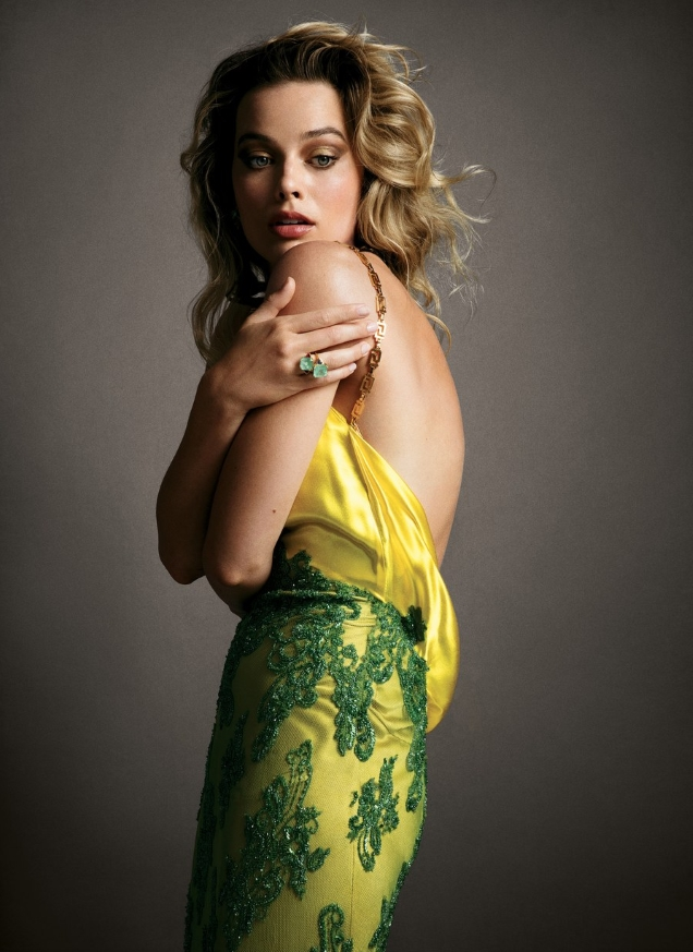 US Vogue July 2019 : Margot Robbie by Inez van Lamsweerde & Vinoodh Matadin