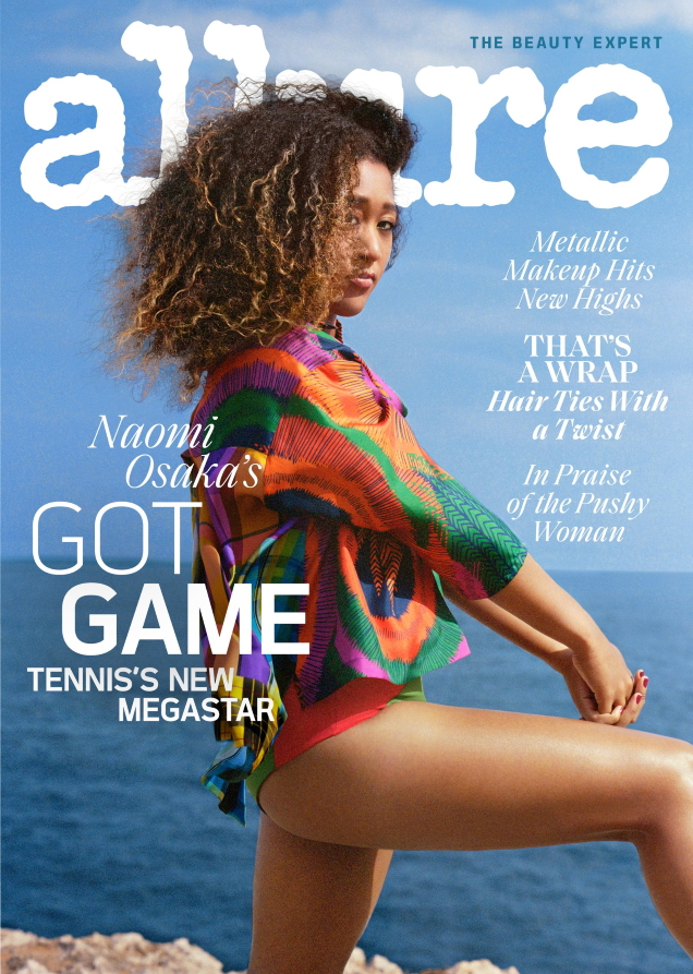 Allure August 2019 : Naomi Osaka by Wai Lin Tse