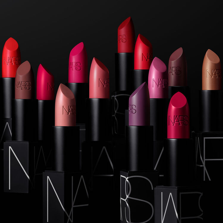 The new NARS lipstick collection.