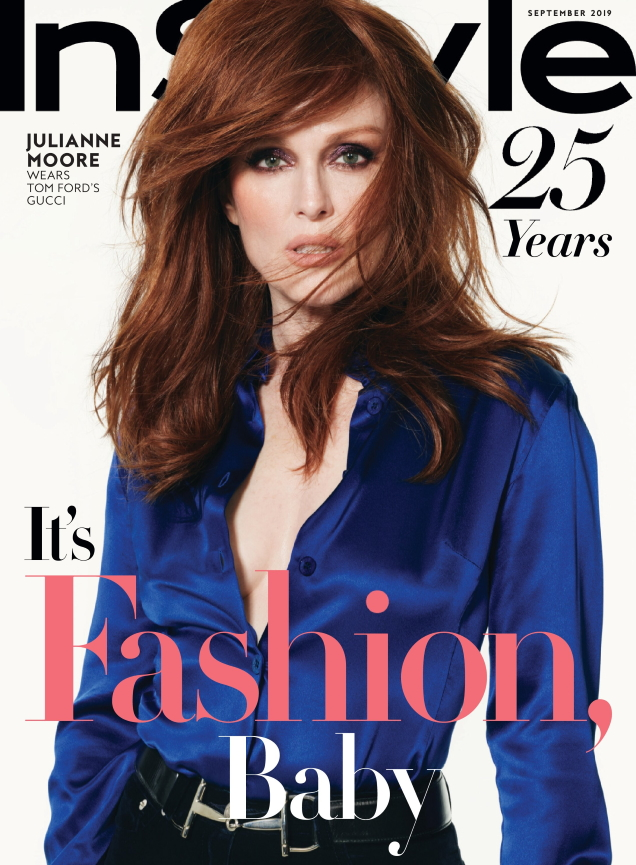 US Instyle September 2019 : Julianne Moore by Phil Poynter