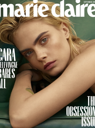 US Marie Claire September 2019 : Cara Delevingne by Thomas Whiteside