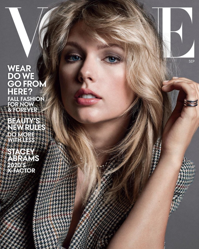 US Vogue September 2019 : Taylor Swift by Inez van Lamsweerde & Vinoodh Matadin