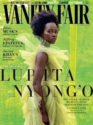 Vanity Fair October 2019 : Lupita Nyong'o by Jackie Nickerson
