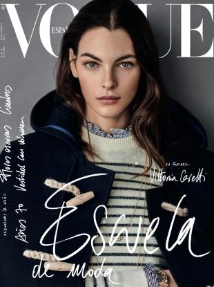 Vogue España September 2019 : Vittoria Ceretti by Giampaolo Sgura