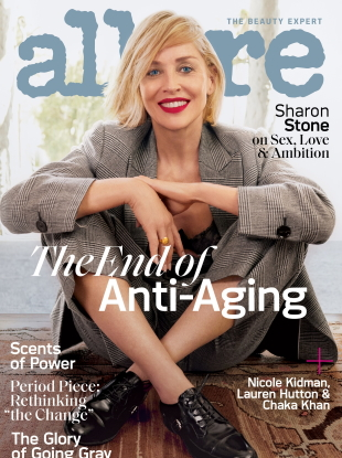 Allure November 2019 : Sharon Stone by Emma Summerton