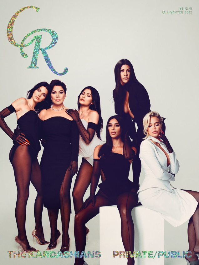 CR Fashion Book #15 F/W 2019 : The Kardashians by Heji Shin