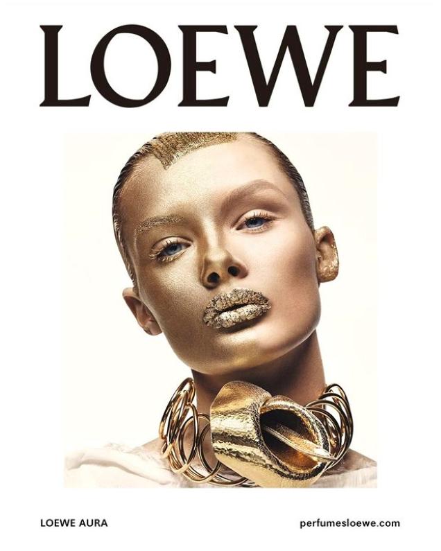 Loewe 'Aura' Fragrance 2019 : Kris Grikaite by Craig McDean