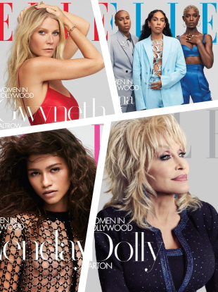 US Elle November 2019 : The 'Women in Hollywood' Issue by Zoey Grossman & Jason Bell