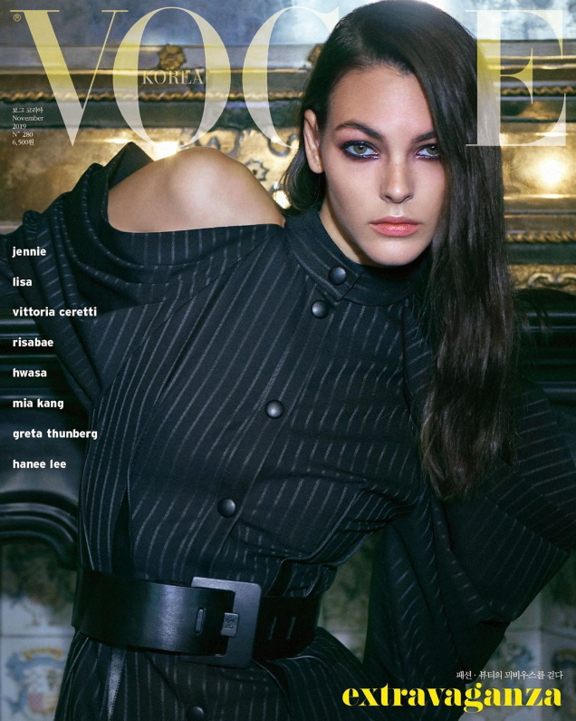 Vogue Korea November 2019 : Vittoria Ceretti by Hyea W. Kang