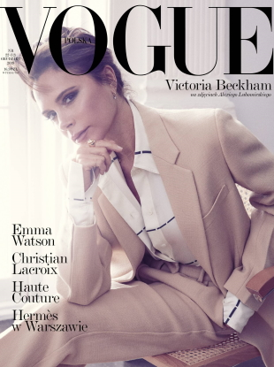 Vogue Poland December 2019 : Victoria Beckham by Alexi Lubomirski