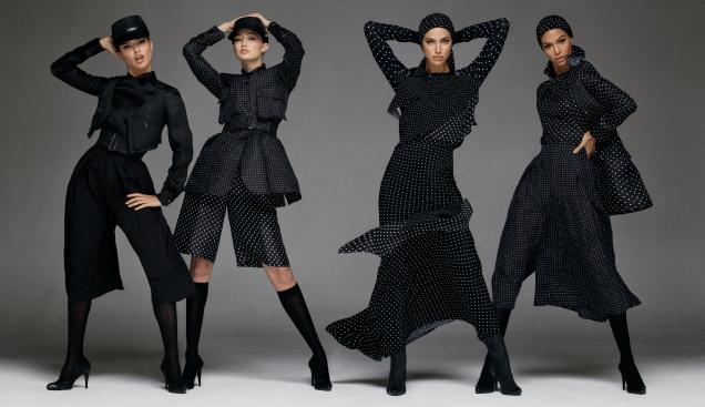 Max Mara S/S 2020 : Gigi Hadid, Joan Smalls, Adriana Lima & Irina Shayk by Steven Meisel