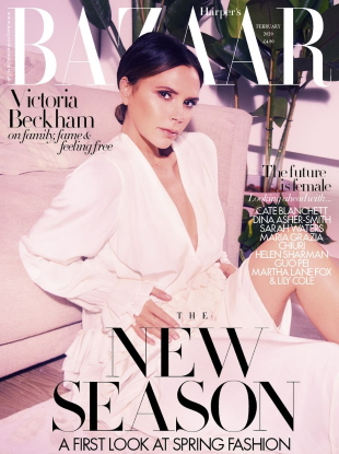 UK Harper's Bazaar February 2020 : Victoria Beckham by Ellen Von Unwerth