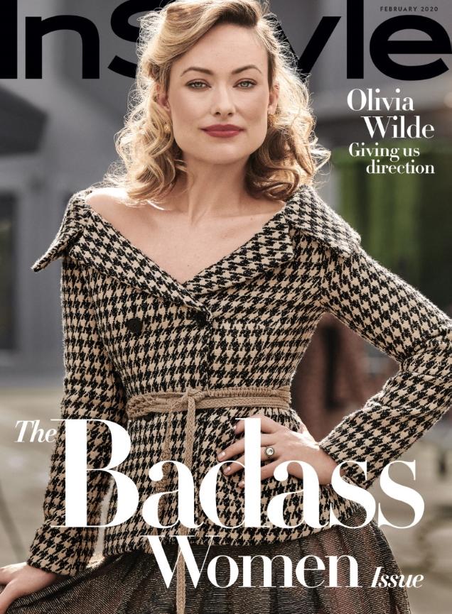 US InStyle February 2020 : Olivia Wilde by Pamela Hanson